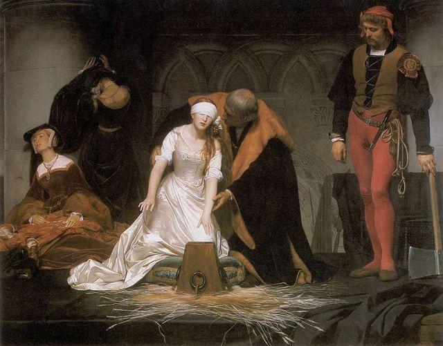 Execução de Joana Grey