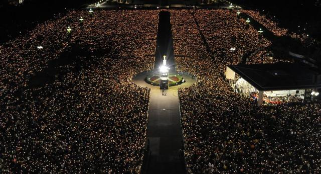 Santuario de Fatima 12 e 13 de maio 2009