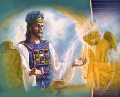 Jesus no Santuário Celestial