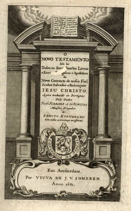 Bíblia Almeida 1691