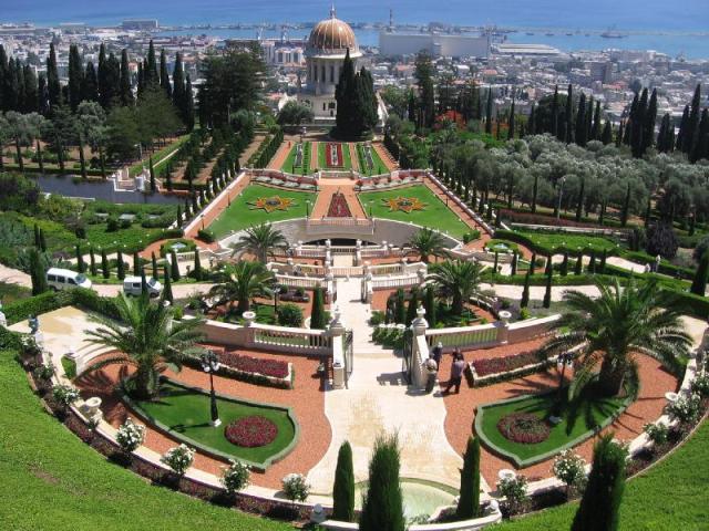 Jardins Bahai2