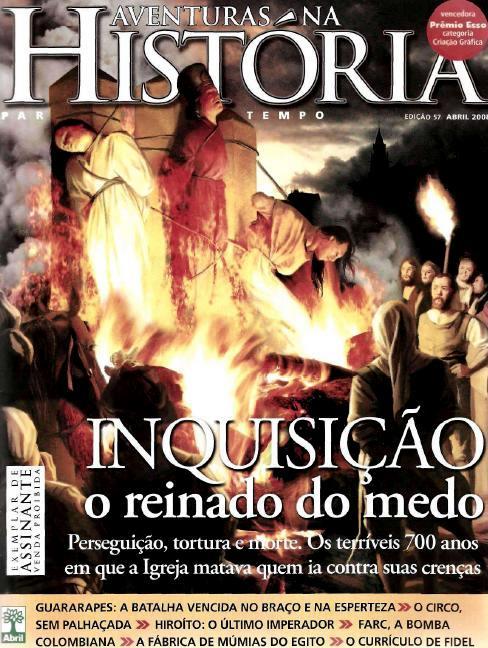 Revista Aventuras na História Abril 2008