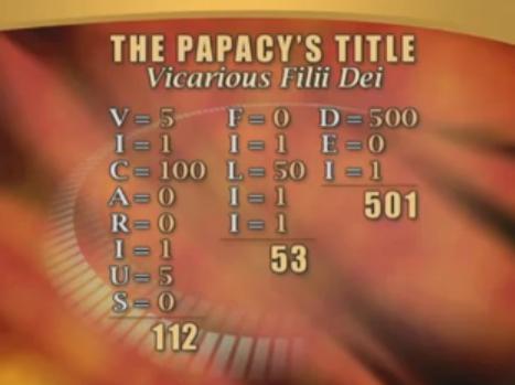 Título Papal 666
