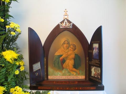 Ídolo Abominável: Mãe Peregrina de Schoenstatt
