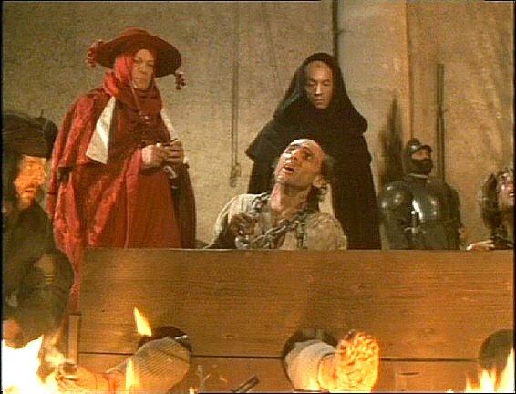 Inquisição - fogo nos pes