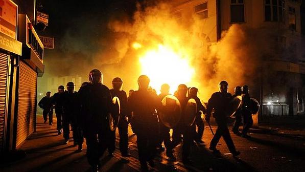 Violencia em Londres 2011