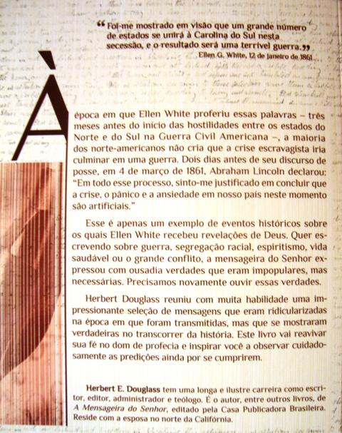 profecias surpreendentes de ellen white contracapa