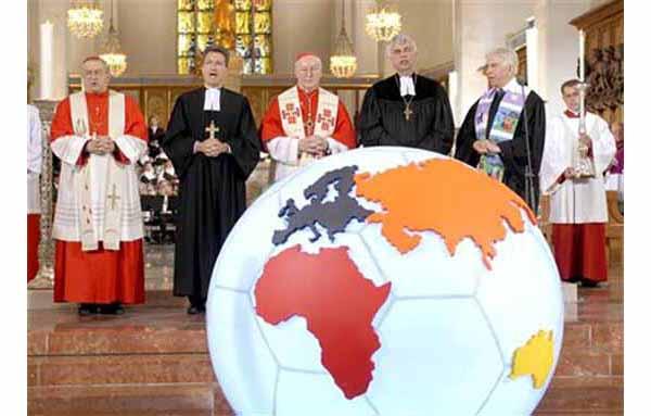 ecumenismo copa do mundo 2006