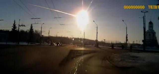 meteoro explode na russia