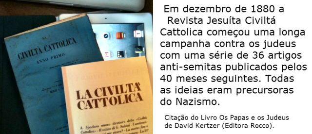 revista catolica contra os judeus