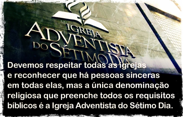 igreja verdadeira adventista