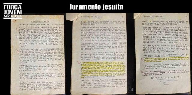 Juramento Jesuita