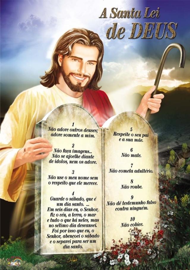 lei de Deus eterna e moral