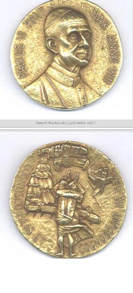 medalha de samuele
