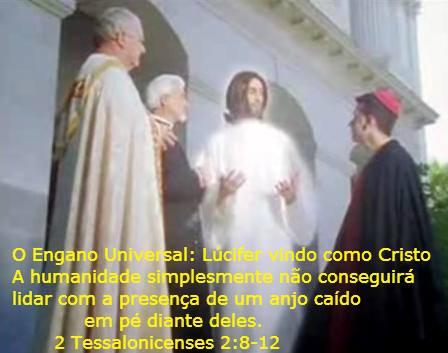 lucifer vindo como cristo