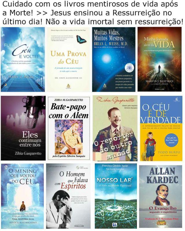 espiritismo livros mentirosos1
