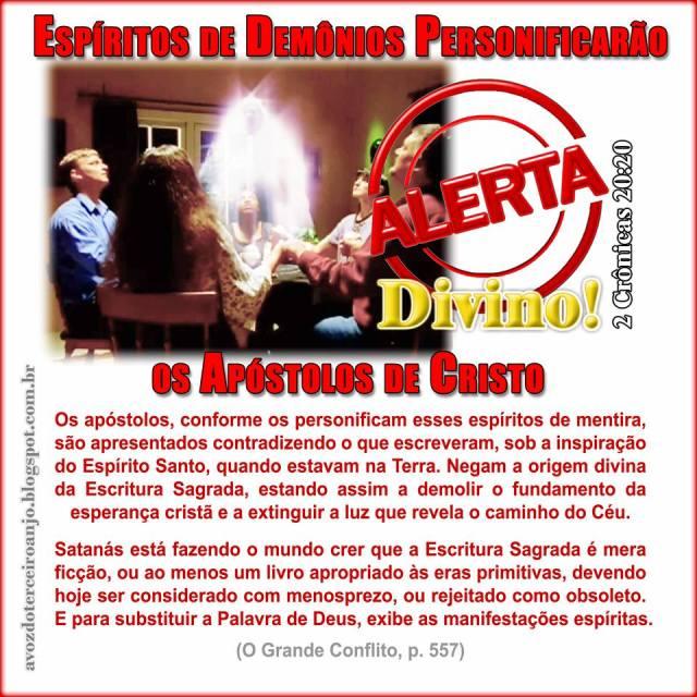 alerta espiritismo