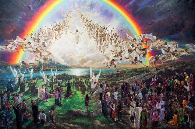 volta de jesus e ressurreicao dos mortos