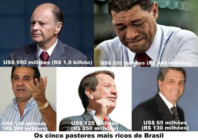 pastores ricos