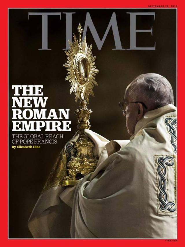 papa imperio romano time