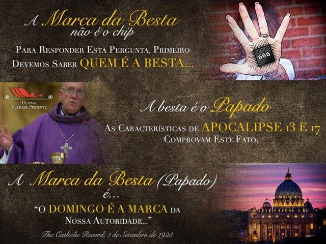 selo de deus e marca papal