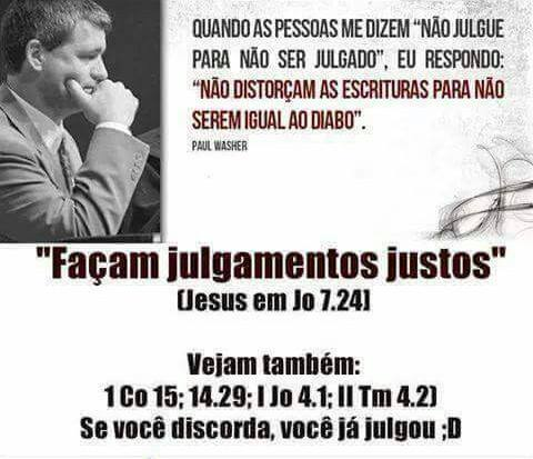 julgar Paul Washer